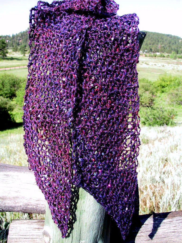 Scarf Knitting Pattern : scarf knitting patterns-Knitting Gallery