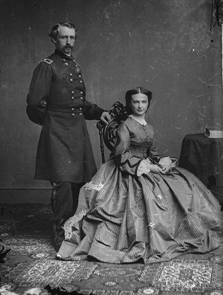 1842: Elizabeth Bacon Born, Future Wife of General George Armstrong Custer