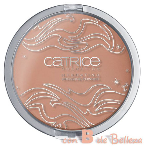 Hydrating bronzing powder