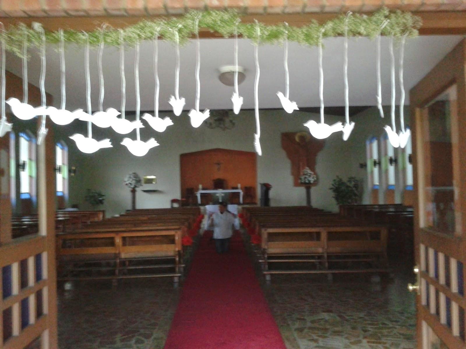 Decoracion Iglesia Para Primera Comunion ~ Si bien la decoraci?n de la capilla debe ser solemne, pon ?nfasis en