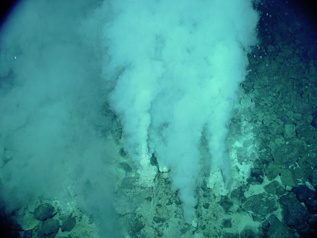 Deep sea hydrothermal vents