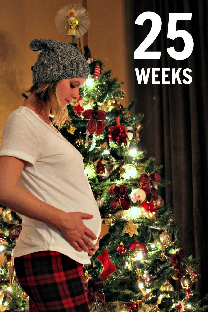 Baby Wardo 25 weeks bumpdate