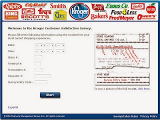 Acess www.tellkroger.com for Tell Kroger Feedback Survey Code