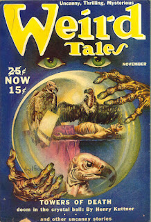Even your writing weird tales, you need to know your genre