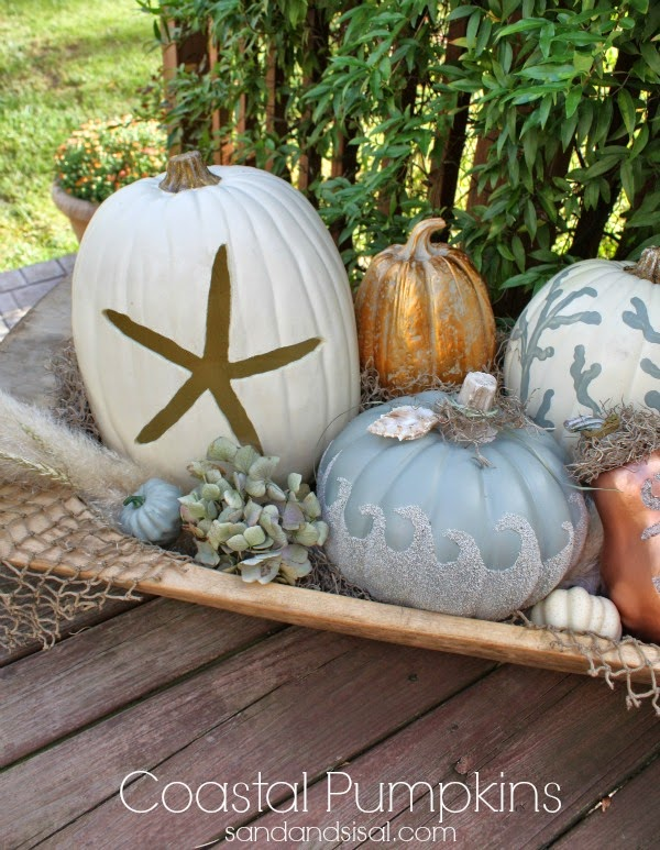 Sand and Sisal | Coastal pumpkins