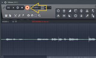 Cara merekam vocal di Fl studio 12.1