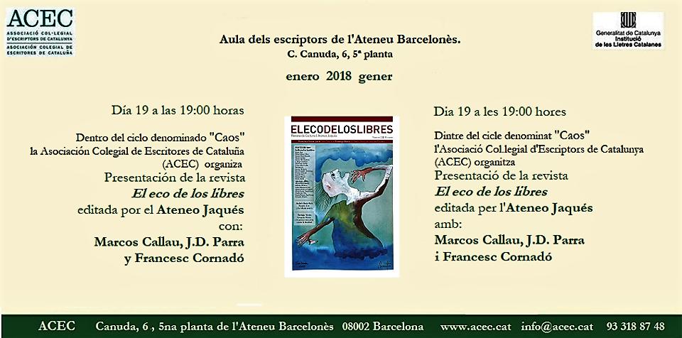 VIERNES 19: BARCELONA