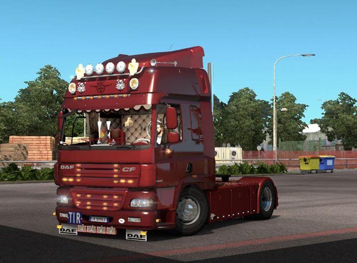 Daf Cf85 Holland Style