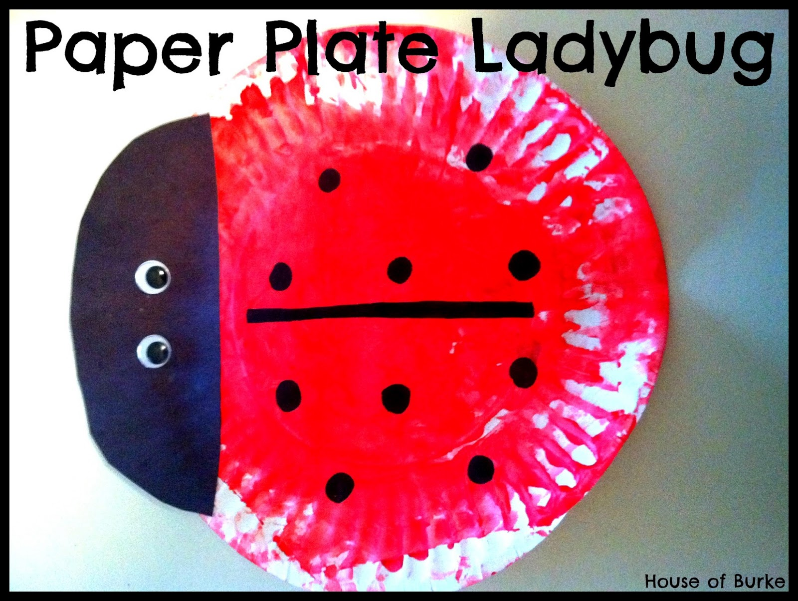 sc 1 st  House of Burke : paper plate lady bugs - pezcame.com