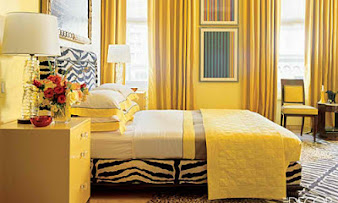 #8 Yellow Bedroom Design Ideas