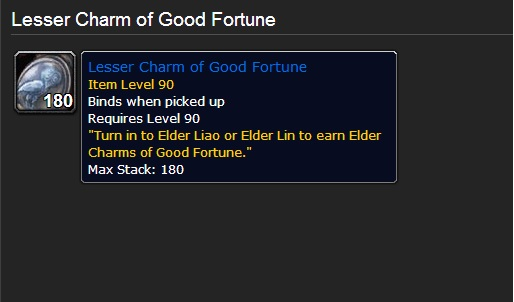 charms of good fortune