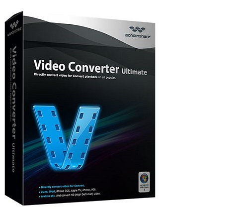 Wondershare Video Converter Ultimate 10.1.1.136 poster box cover