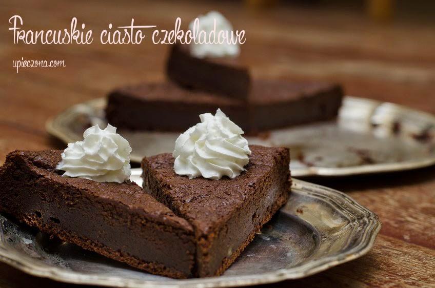 Ciasto czekoladowe (francuskie)
