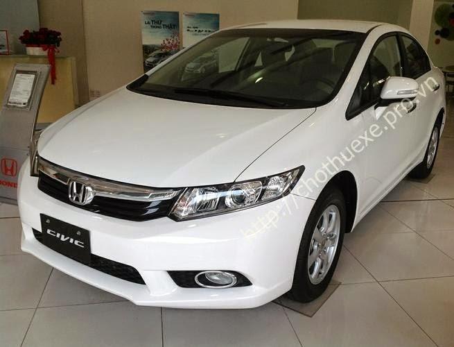 Cho thuê xe 4 chỗ Honda Civic - xe giá rẻ tại Hà Nội