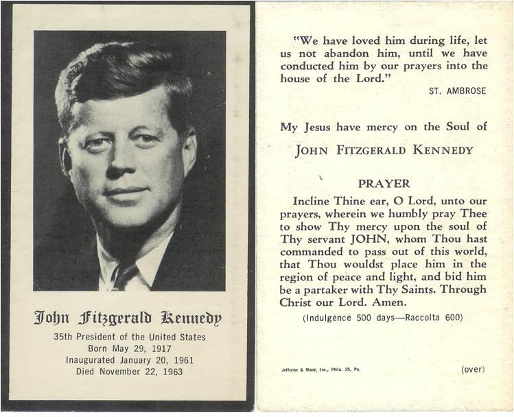 memorial cards for funeral