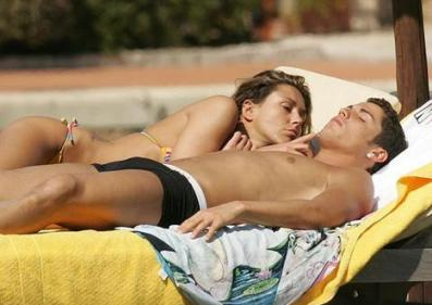 Cristiano Ronaldo and Girlfriend