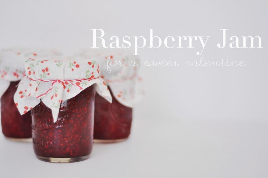 Raspberry Jam Valentine Gift