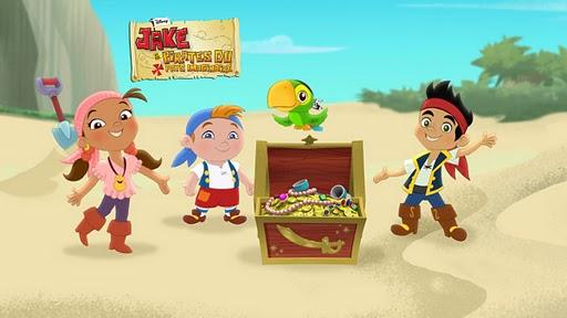 Potins enfantins jake et les pirates du pays imaginaire sur disney junior - Jake et les pirates ...
