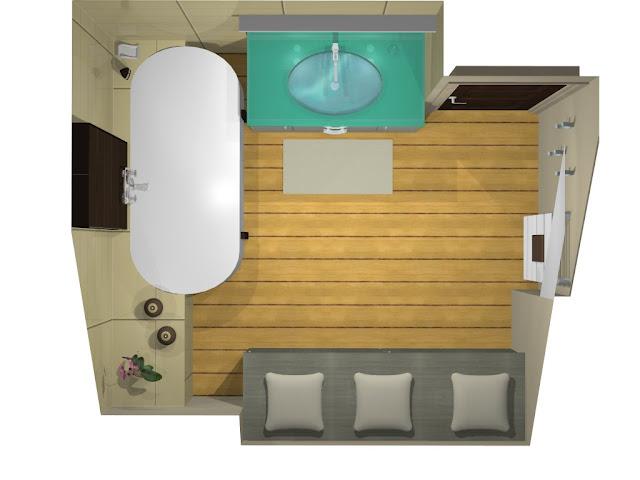 de salle inspiration pente sous bains. Black Bedroom Furniture Sets. Home Design Ideas