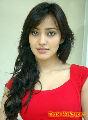 Neha Sharma lok in red