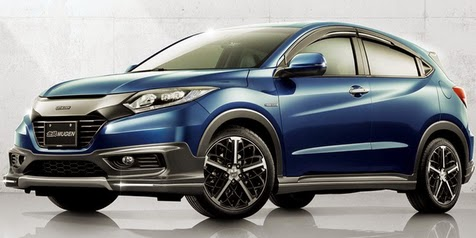 New Honda HR-V from Honda's most expensive car with a translucent roof