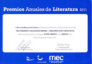 Premio Anual de Literatura 2011