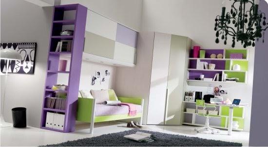 Come arredare casa soluzioni salvaspazio per la cameretta - Camerette per bambini soluzioni salvaspazio ...
