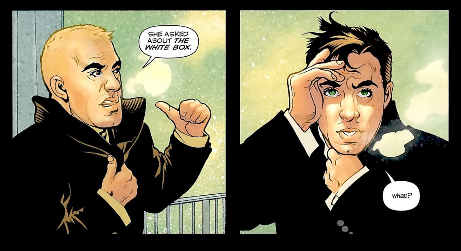 the comic pusher the run ex machina by brian k vaughan and tony