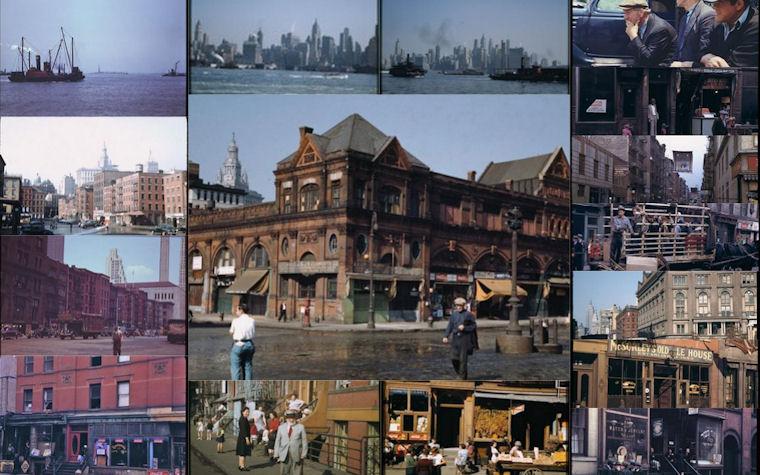 Fotos antiguas de Manhattan, New York 1940's by Business Insider
