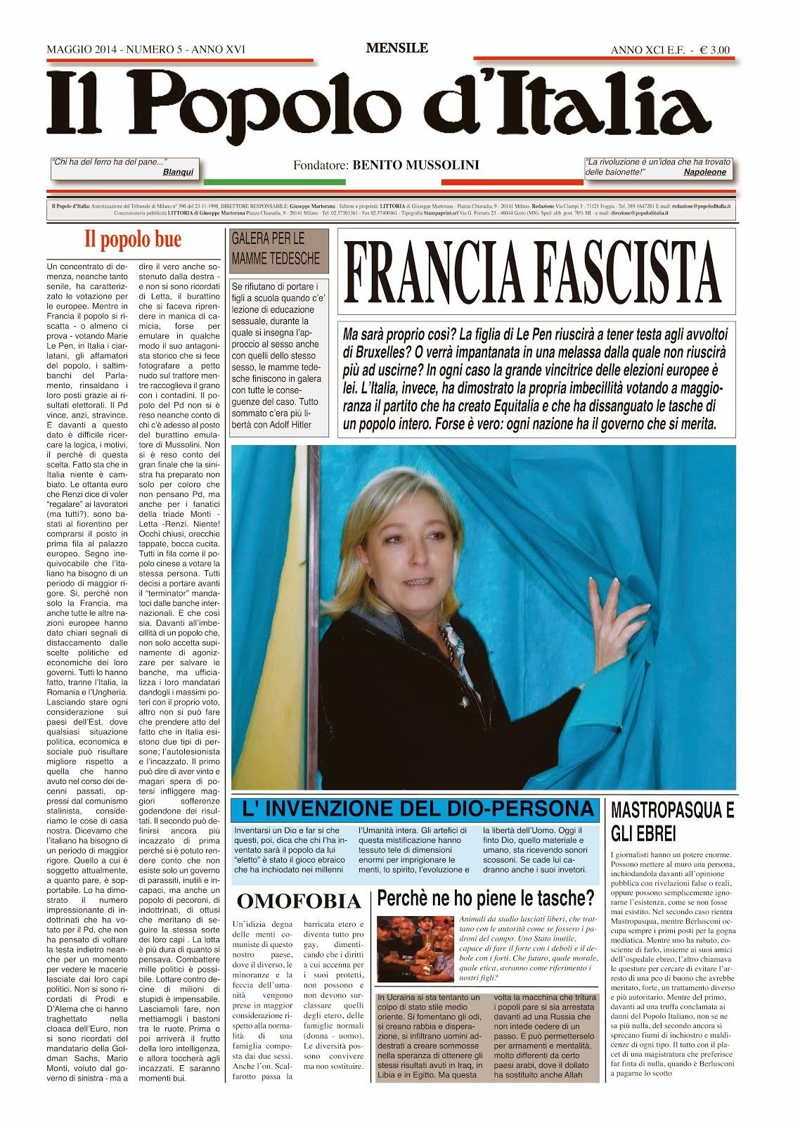 Il Popolo d'Italia Maggio 2014