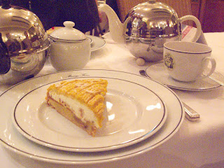 Tart at Mariage Freres Ginza, Tokyo.