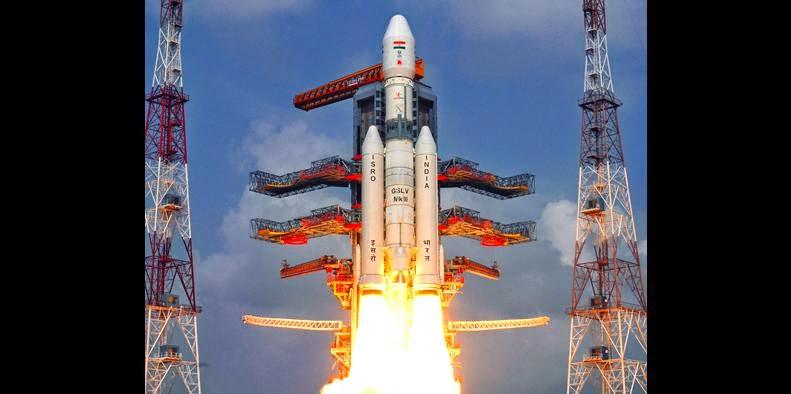 GSLV-Mark III rocket launch. Credit: ISRO