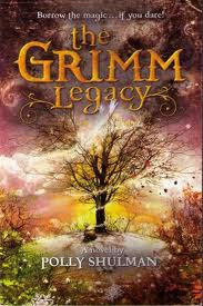 image: THE GRIMM LEGACY- mystery book review