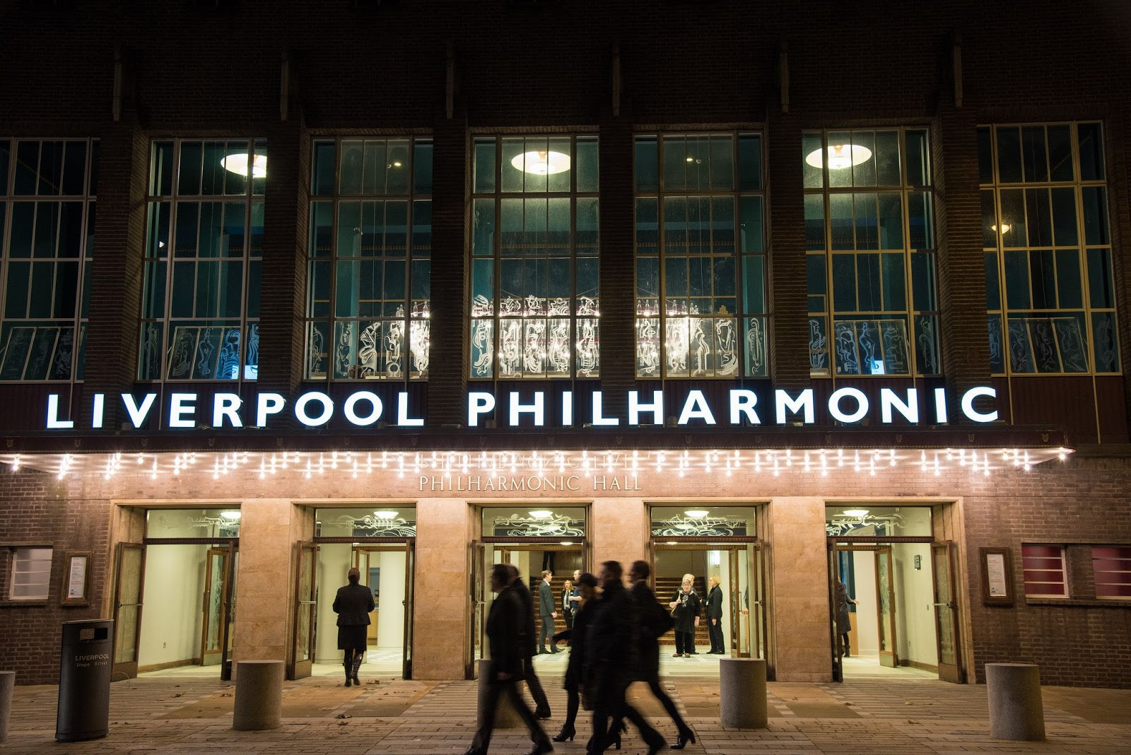 Liverpool Philharmonic Grand Foyer Bar : A f s i caruso st john