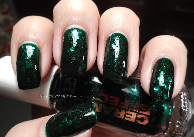 Layla Ceramic Effects CE 54 Green Galaxy