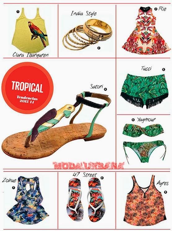 looks básicos de moda femenina verano 2014