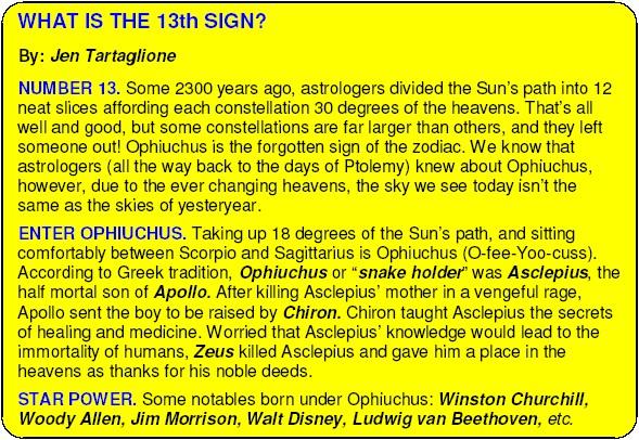 The Messianic Kabbalah Revolution Ophiuchus The 13th Zodiac Sign