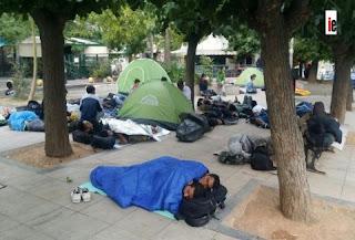 Πώς είναι η Πλατεία Βικτωρίας πέντε ημέρες μετά την απομάκρυνση των προσφύγων