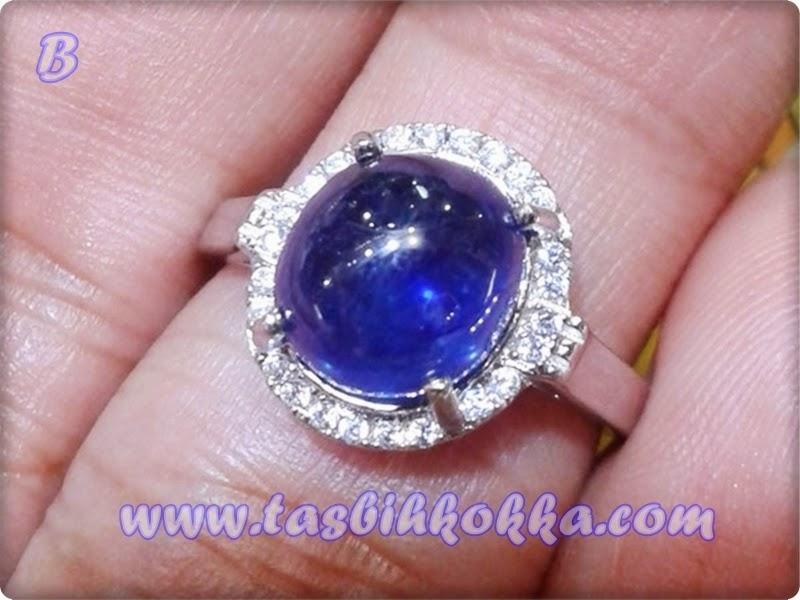 Cincin Blue Safir Afrika