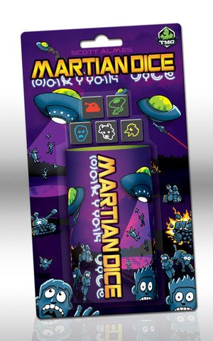 Martian Dice Review + Giveaway