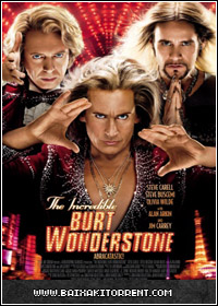 Capa Baixar Filme The Incredible Burt Wonderstone   2013 HDRip   Torrent Baixaki Download