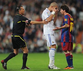 pepe real madrid messi barcelona