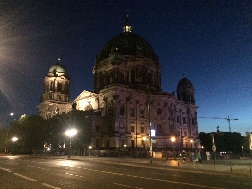 Berlin Cathedral night