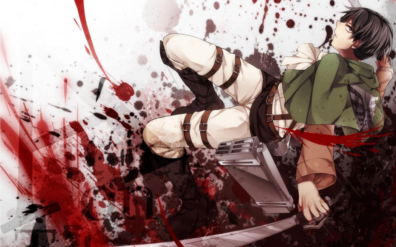 levi attack on titan shingeki no kyojin anime hd wallpaper 1440x900 6m ...