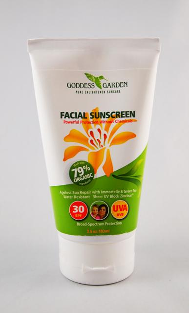 Kaylin 39 S Kit Review Goddess Garden Facial Sunscreen