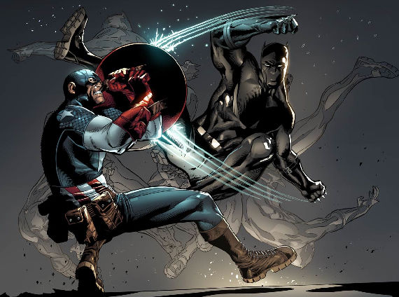 Black Panther (Marvel Comics) Character Review - Black Panther Vs Captain America