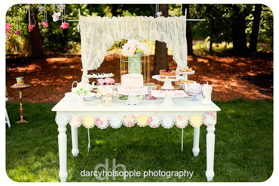 English Garden Tea Party Design Dazzle