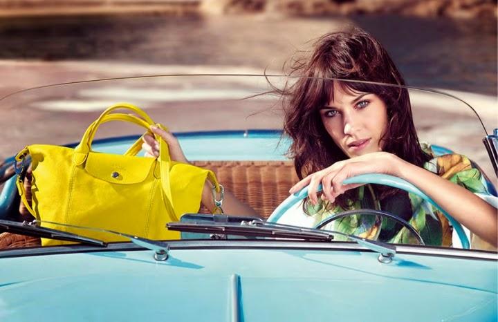 alexa chung le pliage longchamp 20 anni le pliage longchamp personalizzare le pliage borse primavera estate 2014 fashion blogger italiane milano