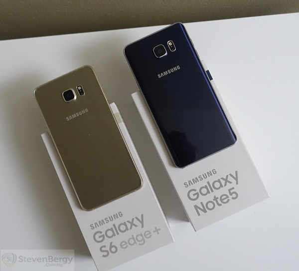 Samsung Galaxy Note5 and S6 Edge+