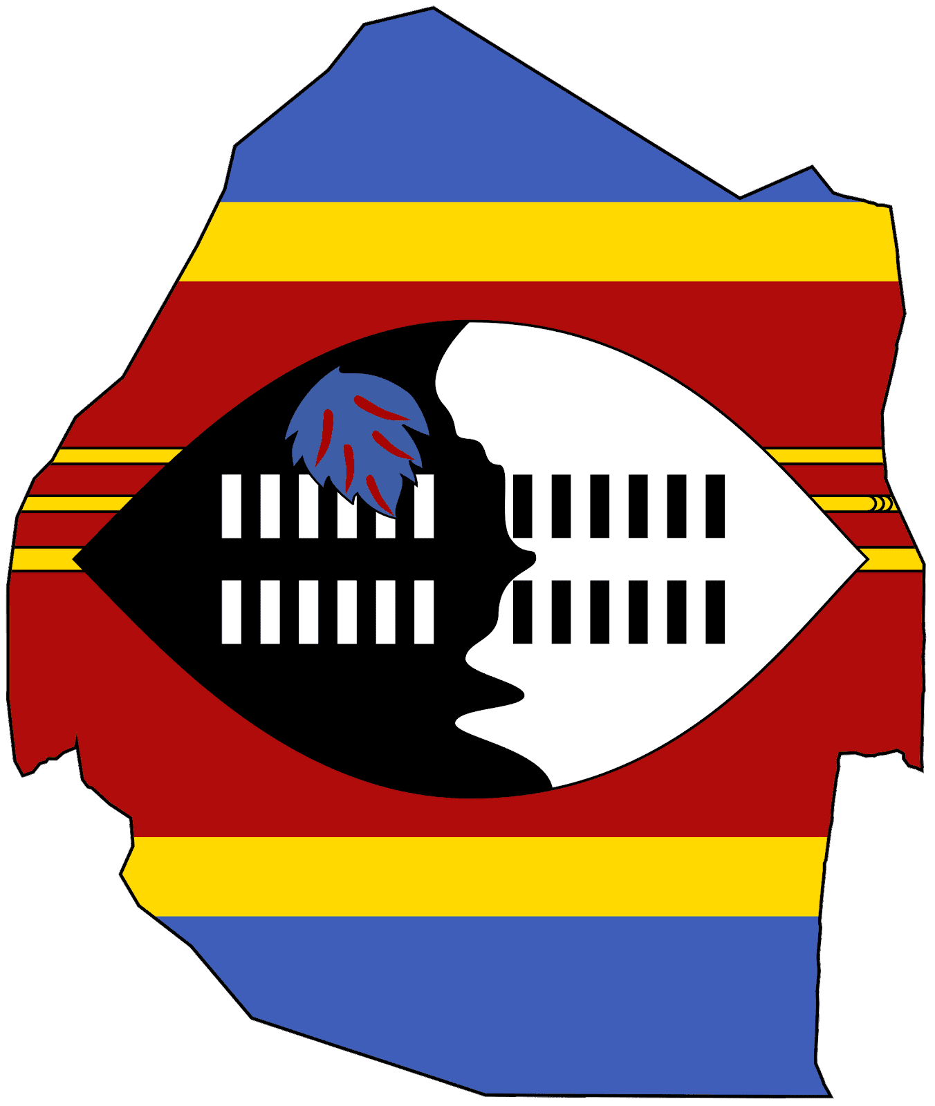 Swaziland Flag Pictures